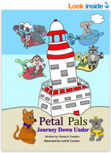 Petal Pals: Journey Down Under lookinside